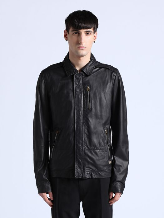 DIESEL L-HEIKO-2 Leather jackets U f
