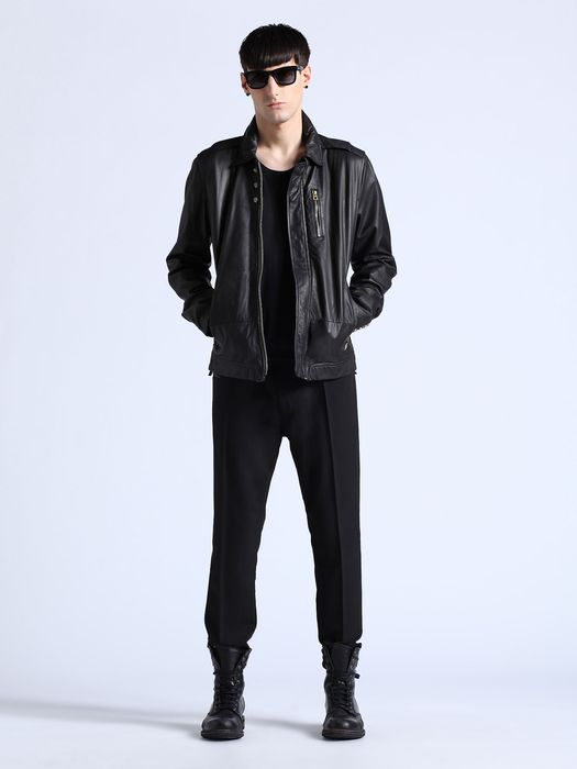 DIESEL L-HEIKO-2 Leather jackets U r