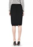 ALEXANDER WANG VACUUM PRESSED IRREGULAR PLEAT FRONT SKIRT SKIRT Adult 8_n_d