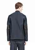 ALEXANDER WANG BOMBER JACKET WITH LEATHER ELBOW PATCH Jacket Adult 8_n_a