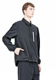 T by ALEXANDER WANG LIGHTWEIGHT NYLON COLLARED SHIRT JACKET JACKETS AND OUTERWEAR  Adult 8_n_a