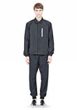T by ALEXANDER WANG LIGHTWEIGHT NYLON COLLARED SHIRT JACKET JACKETS AND OUTERWEAR  Adult 8_n_f