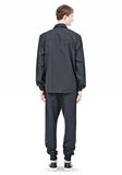 T by ALEXANDER WANG LIGHTWEIGHT NYLON COLLARED SHIRT JACKET JACKETS AND OUTERWEAR  Adult 8_n_r
