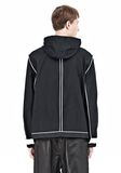 T by ALEXANDER WANG WAX COTTON INSIDE OUT HOODED JACKET JACKETS AND OUTERWEAR  Adult 8_n_d
