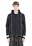 T by ALEXANDER WANG WAX COTTON INSIDE OUT HOODED JACKET JACKETS AND OUTERWEAR  Adult 8_n_e