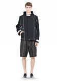 T by ALEXANDER WANG WAX COTTON INSIDE OUT HOODED JACKET JACKETS AND OUTERWEAR  Adult 8_n_f