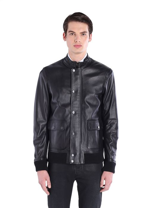 DIESEL BLACK GOLD LEVISI Leather jackets U f