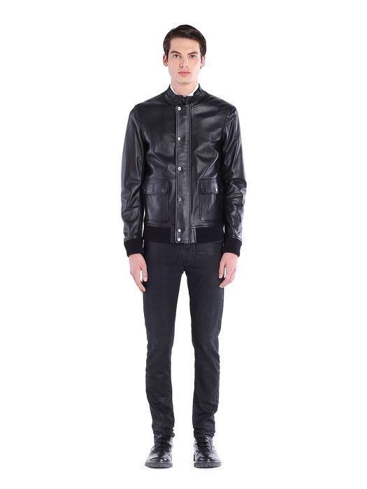 DIESEL BLACK GOLD LEVISI Leather jackets U r