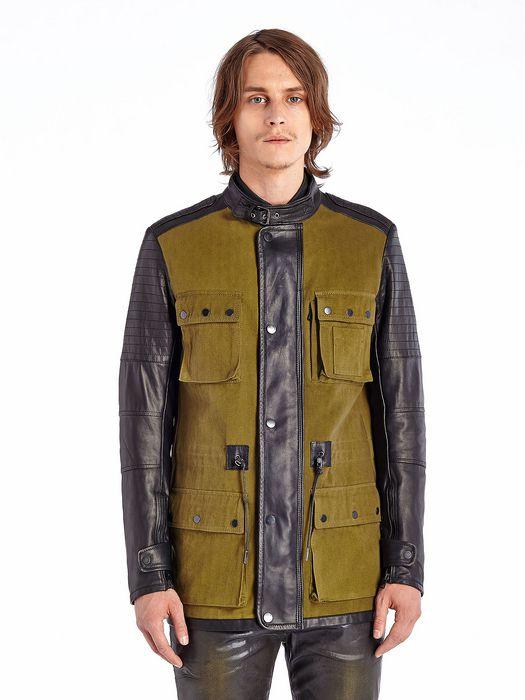 DIESEL BLACK GOLD JOSTELLA Jackets U f