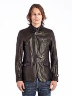DIESEL BLACK GOLD LEPRIT Leather jackets U f