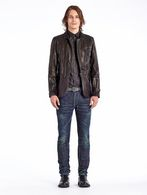 DIESEL BLACK GOLD LEPRIT Leather jackets U r