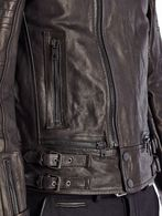 DIESEL BLACK GOLD LIMOTEO Leather jackets U a