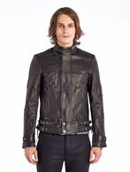 DIESEL BLACK GOLD LIMOTEO Leather jackets U f