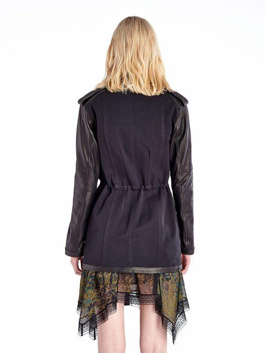 DIESEL BLACK GOLD WIRATA Jackets D e