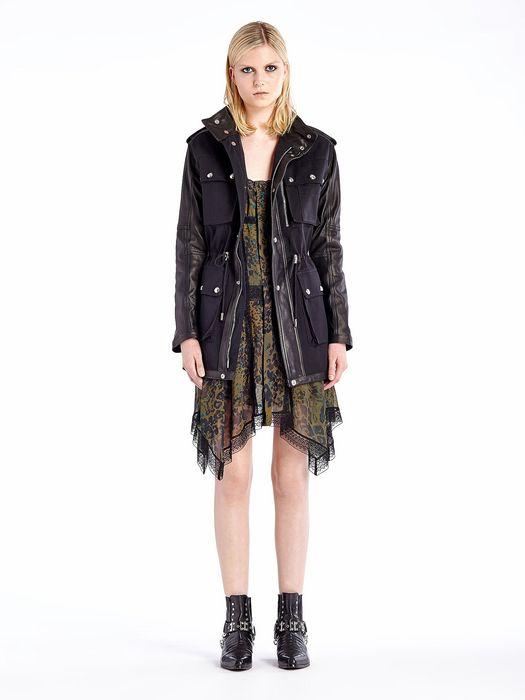 DIESEL BLACK GOLD WIRATA Jackets D r