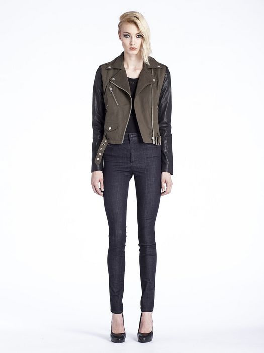 DIESEL L-LUPUS-C Leather jackets D r