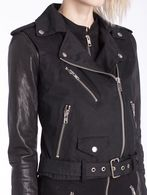 DIESEL L-LUPUS-C Leather jackets D a
