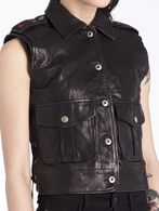 DIESEL L-CLUSTER Leather jackets D a