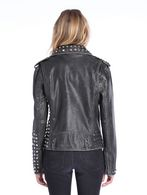 DIESEL L-ALFIE Leather jackets D e