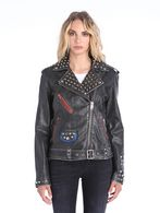 DIESEL L-ALFIE Leather jackets D f