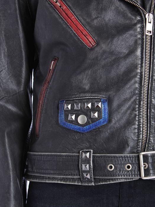 DIESEL L-ALFIE Leather jackets D a