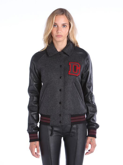 DIESEL L-CREW Leather jackets D f
