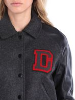 DIESEL L-CREW Leather jackets D a