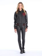 DIESEL L-CREW Leather jackets D r