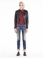 DIESEL L-SPICE-A Leather jackets D r