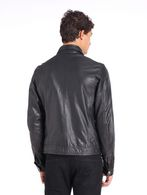 DIESEL L-BUNMI Leather jackets U e
