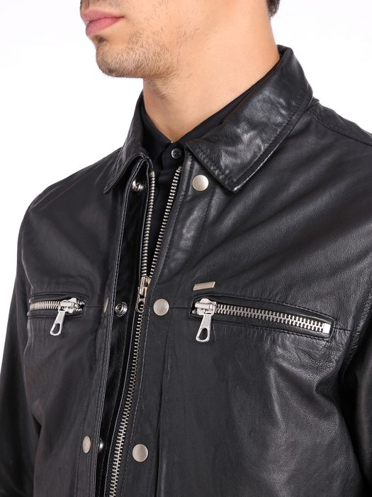 DIESEL L-BUNMI Leather jackets U a