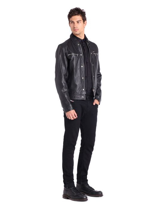 DIESEL L-BUNMI Leather jackets U r