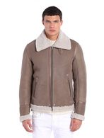 DIESEL L-SMITRI Leather jackets U f