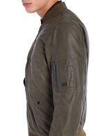 DIESEL L-DEVRA Leather jackets U a