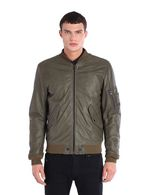DIESEL L-DEVRA Leather jackets U f