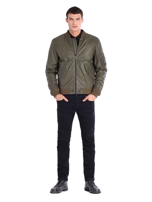DIESEL L-DEVRA Leather jackets U r