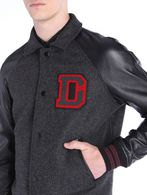 DIESEL L-DAYAN Leather jackets U a