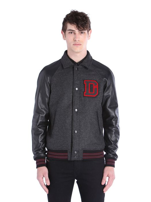 DIESEL L-DAYAN Leather jackets U f