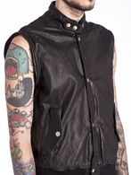 DIESEL L-GHITA Leather jackets U a