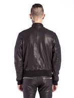 DIESEL L-GHITA Leather jackets U e