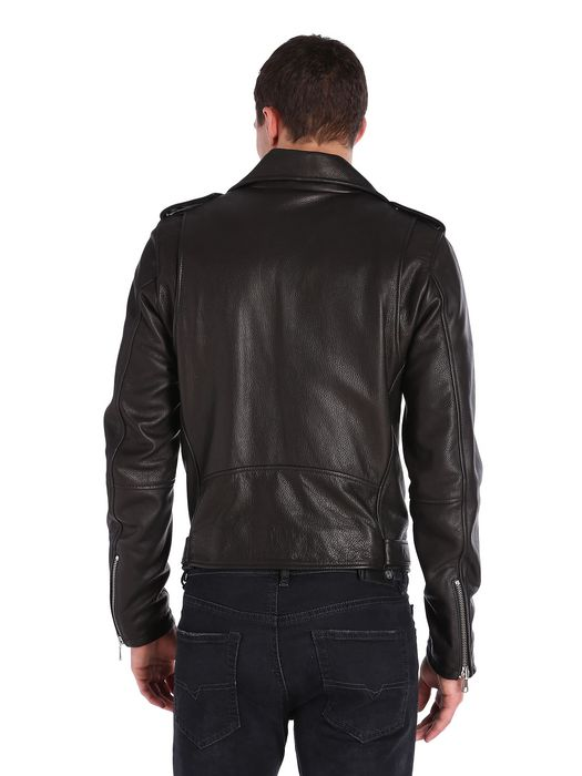 DIESEL L-SEDDIKKO Leather jackets U e