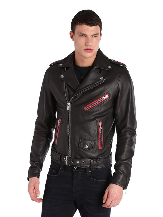 DIESEL L-SEDDIKKO Leather jackets U f