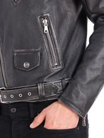 DIESEL L-SEDDIK Leather jackets U a