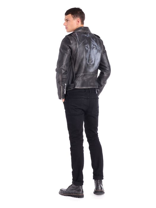 DIESEL L-SEDDIK Leather jackets U r
