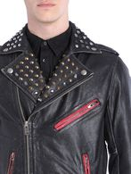 DIESEL L-SNEH Leather jackets U a