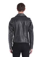 DIESEL L-SNEH Leather jackets U e