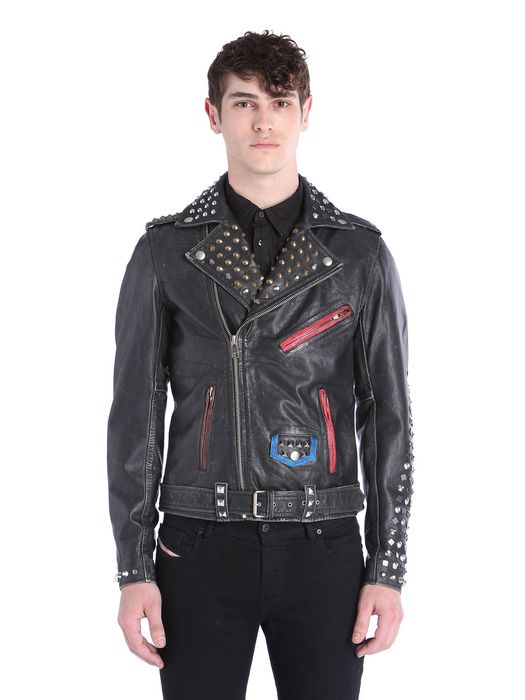 DIESEL L-SNEH Leather jackets U f