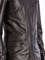DIESEL BLACK GOLD LUSTYNO Leather jackets U a