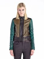 DIESEL BLACK GOLD LILIANY Leather jackets D f