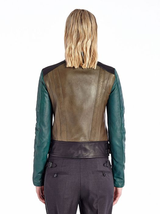 DIESEL BLACK GOLD LILIANY Leather jackets D e
